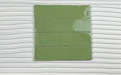 Subway Tile HARMONY Olive 75 x 300